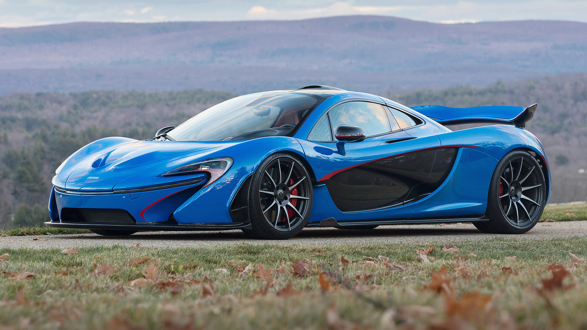 McLaren P1 Sells For $2.39M At Auction, The Most Expensive
