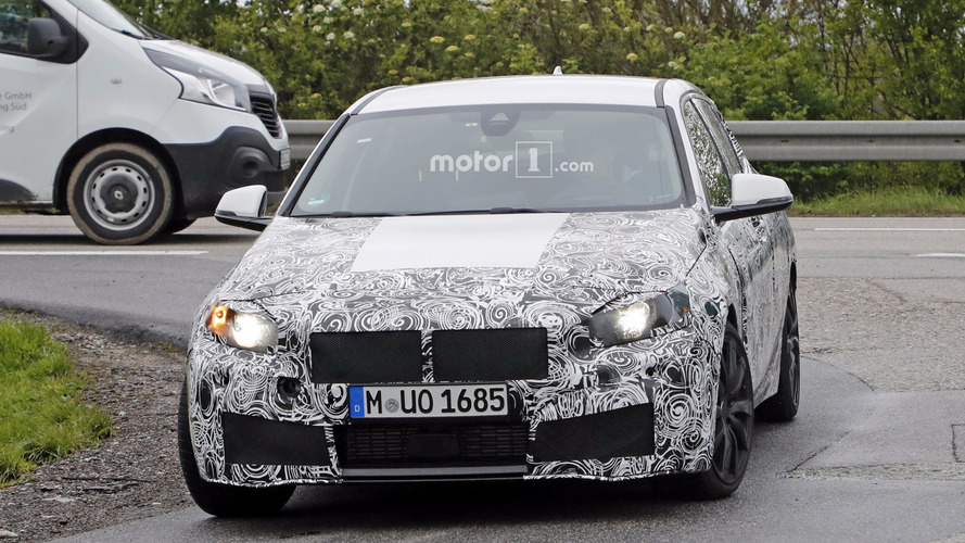 2019 BMW 1 Serisi (Muhtemel M140i) casus fotoğraflar
