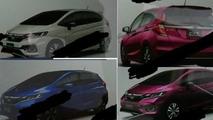 Honda Fit facelift - catálogo