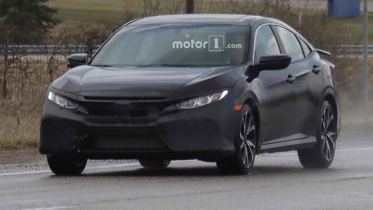 Honda Civic Si Sedan casus fotoğrafları