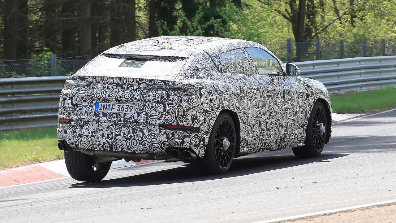 Lamborghini Urus Nurburgring Spy Photos Photo Gallery