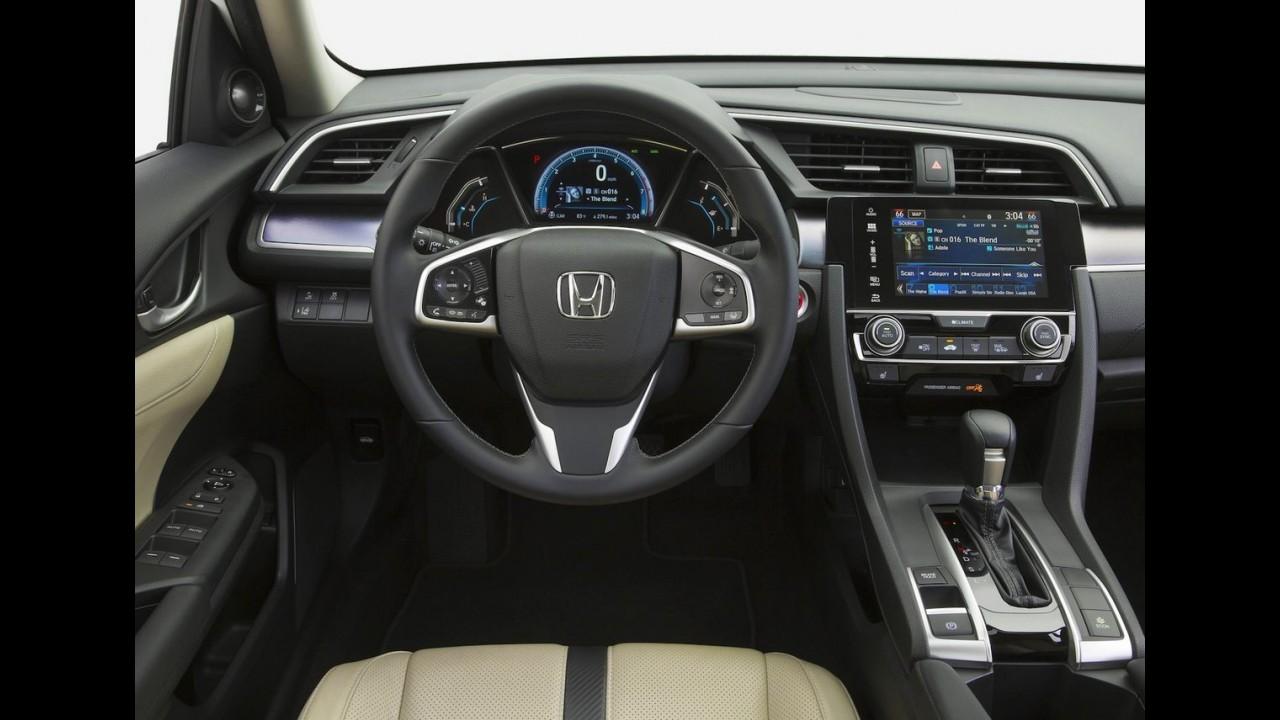 Honda começa a produção do novo Civic em série