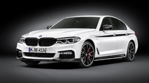 2017 BMW 5 Series M Performance kit