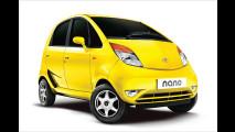 Start für den Tata Nano