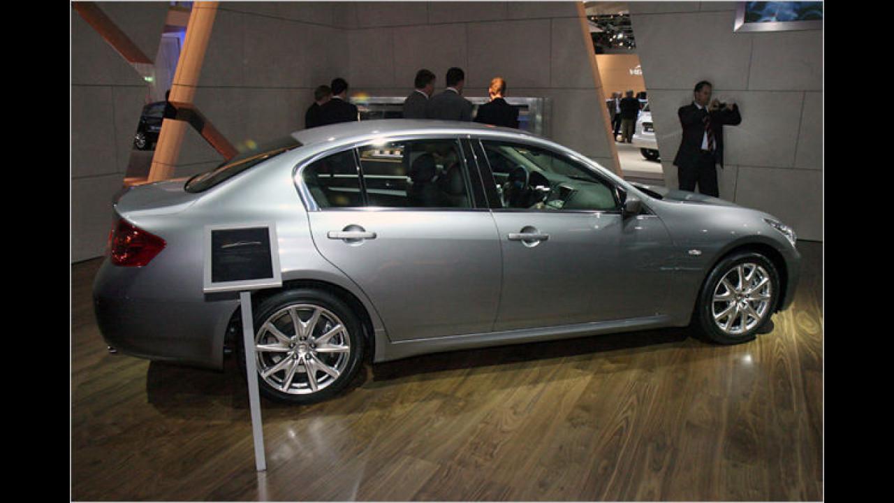 Mit dem Infiniti G37 will die Nissan-Nobelmarke jetzt auch im Mittelklasse-Segment mitreden