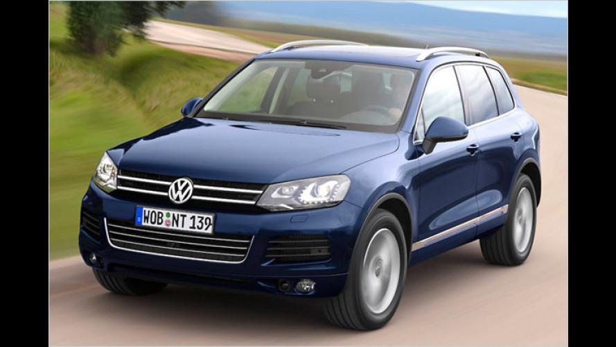VW Touareg: Neuer Basismotor und niedrigerer Grundpreis