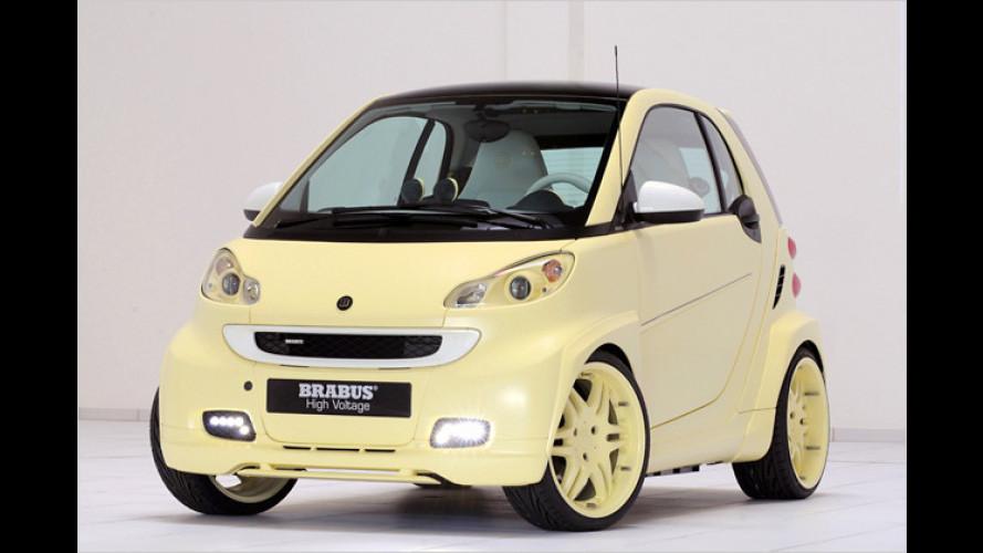 IAA 2009: Brabus zeigt aufgemotzten Elektro-Smart