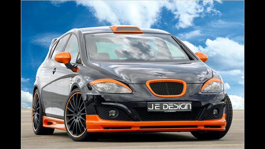 JE Design macht den Seat León zum Vollblutsportler
