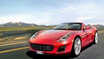 Baby Ferrari Artists Rendering