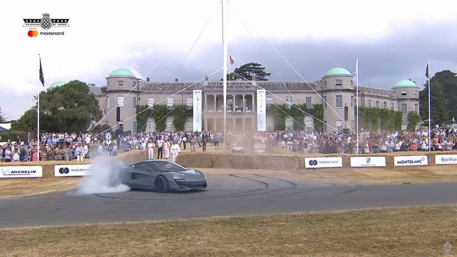 McLaren 600LT Goodwood'da