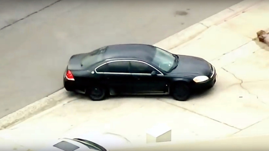 American news chopper films wrong car during police chase
