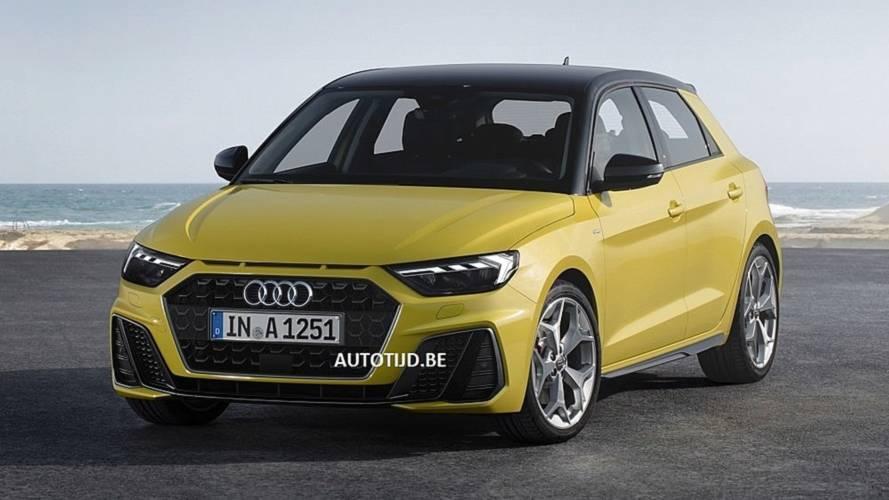 2019 Audi A1'in fotoğrafları sızdı
