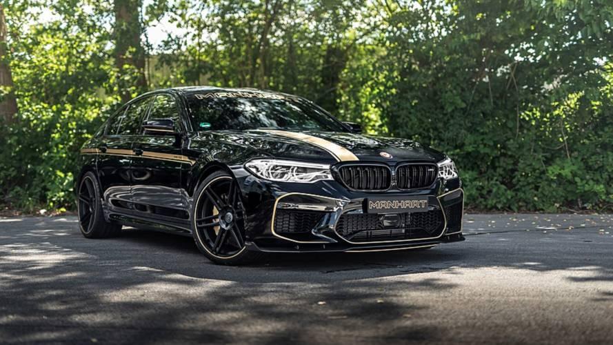 Karbonba bújtatva, 723 lóerővel debütált a Manhart által megdolgozott BMW M5