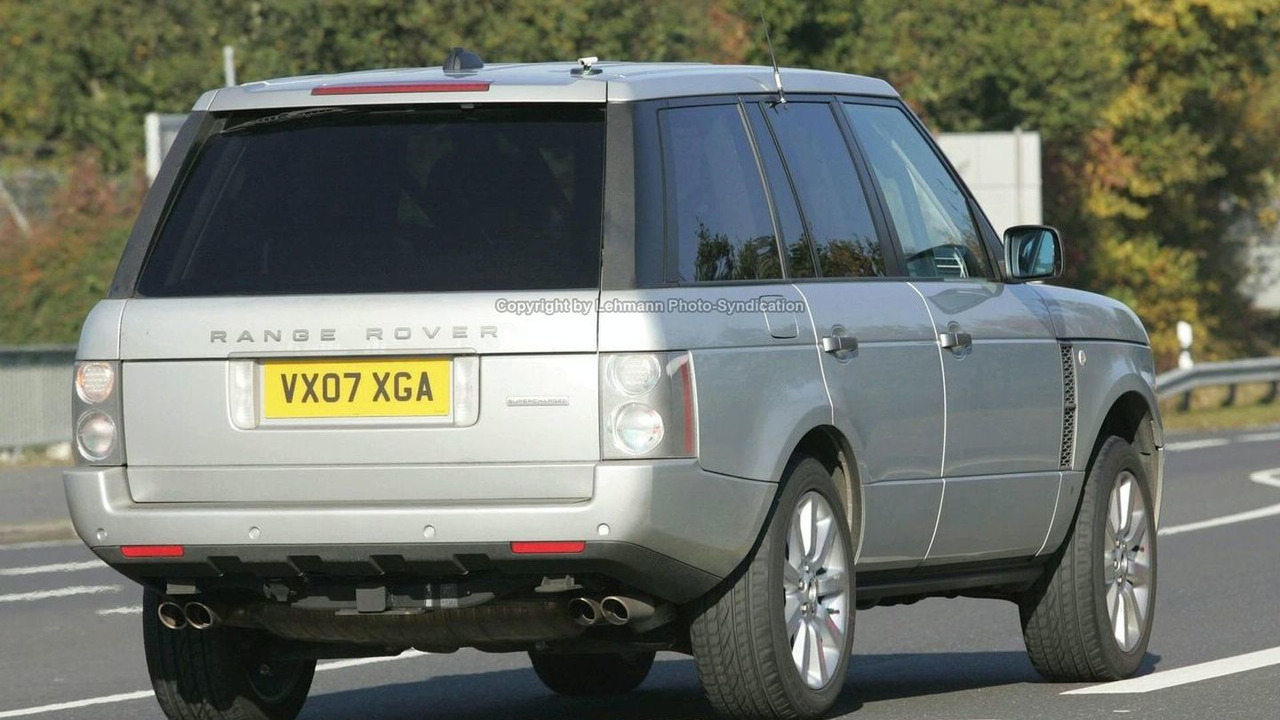 Spied: New suped-up Range Rover