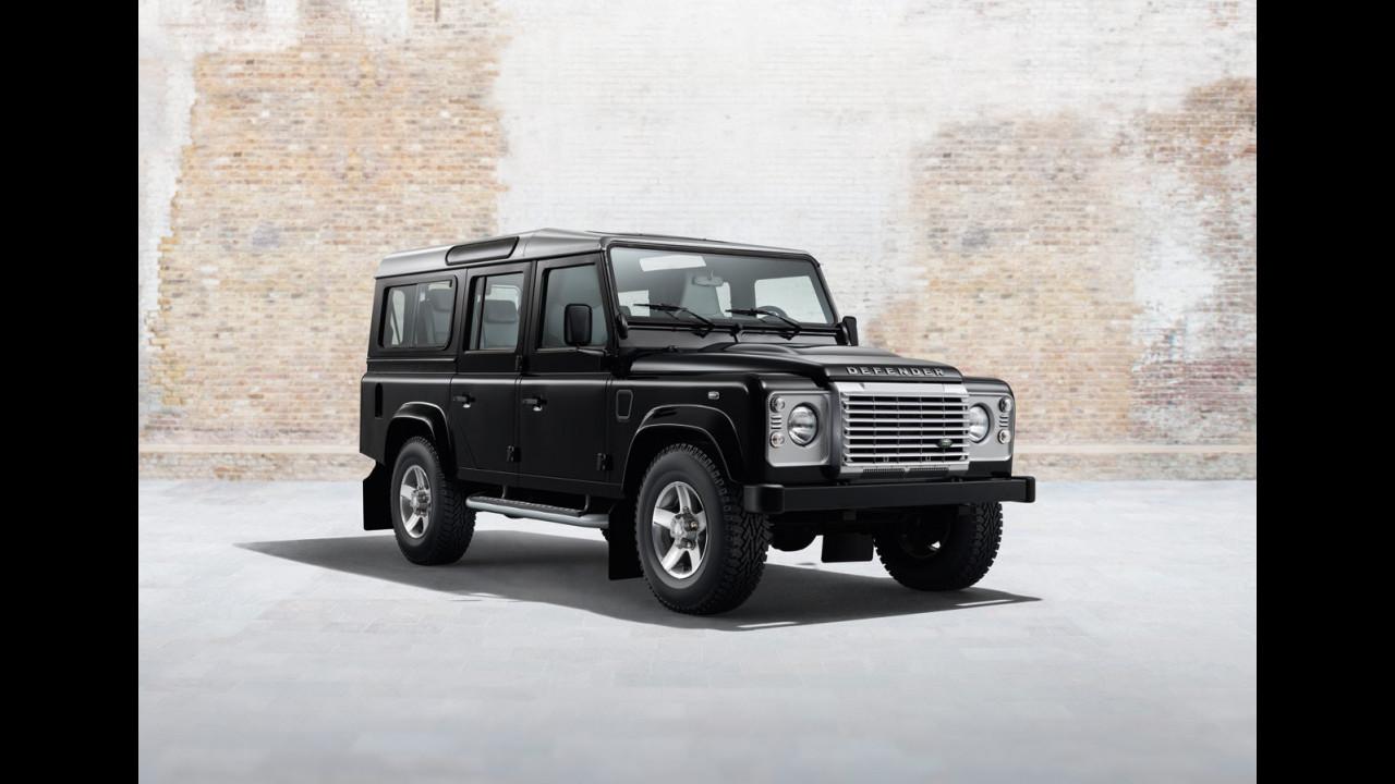Land Rover Defender Black Pack e Silver Pack