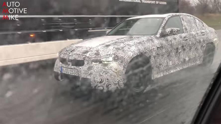 Yeni jenerasyon BMW 3 Serisi otobanda görüldü