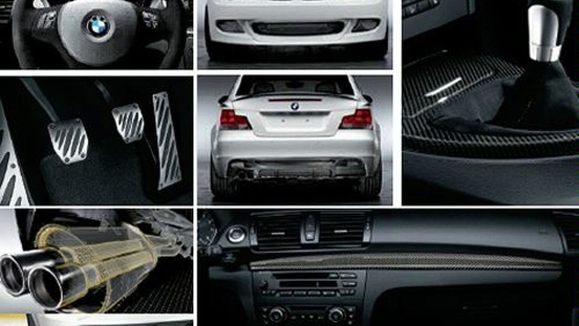 Bmw Aftermarket Parts >> Bmw 1 Series Coupe Performance Parts Catalogue Leaked