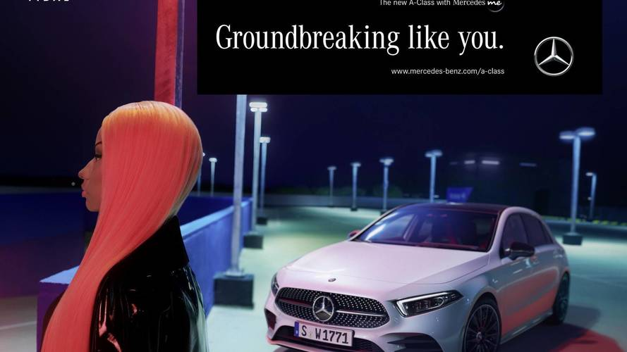 Mercedes A-Serisi'nin reklam yüzü Nicki Minaj oldu