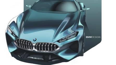 M8 Gran Coupé tanulmánnyal készül a BMW a Genfi Autószalonra