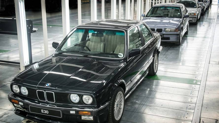 Güney Afrika Rosslyn fabrikasında üretilen son BMW 3 Serisi Sedan