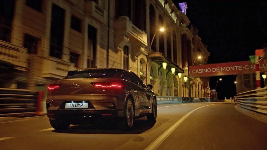 Le Jaguar I-Pace électrise Monaco