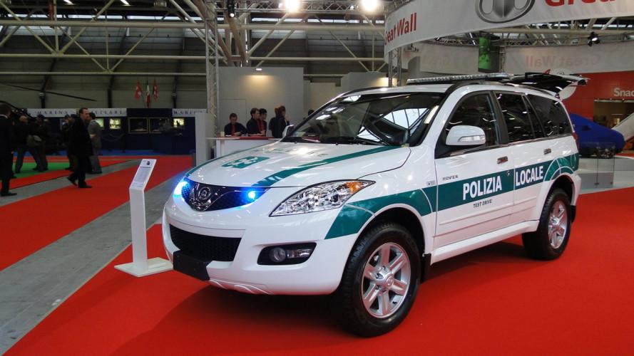 Great Wall Hover 5 per la Polizia Locale
