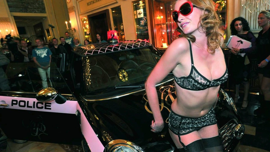 Agent Provocateur Pimped Mini Clubman Unveiled at Life Ball 2008