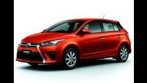Toyota Yaris ganha visual exclusivo na Tailândia