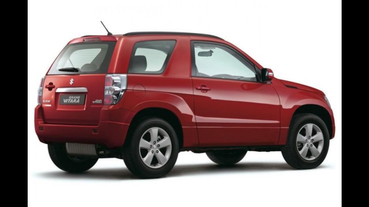 "Suzuki Grand Vitara 2010 muda o visual e ""perde"" o estepe traseiro"