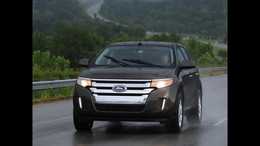 Ford começa a vender linha 2013 do crossover Edge com novas opções de cores