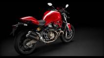 Salão de Milão: Ducati mostra novas Monster 821 e 1200 S Stripe