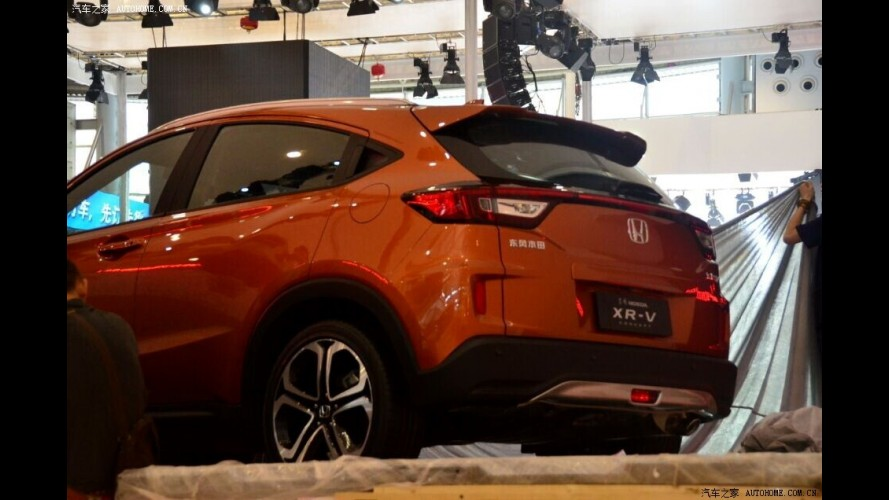 Honda Vezel aparece com visual exclusivo e batismo XR-V na China