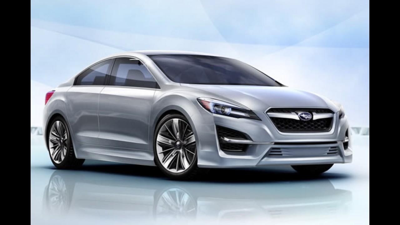 Subaru Impreza Design Concept antecipa visual da nova geração
