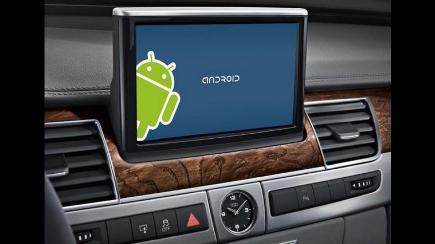 Google cria aliança global para implantar Android nas centrais multimídias