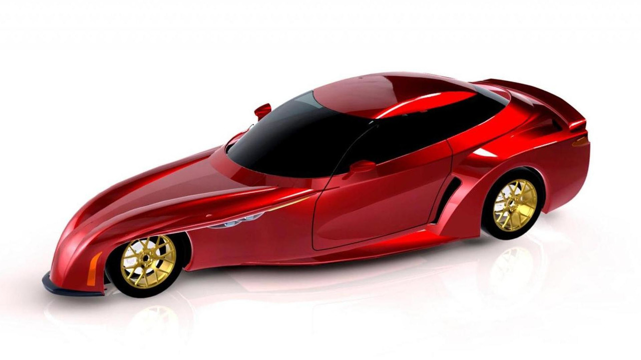 DeltaWing Street Car rendering