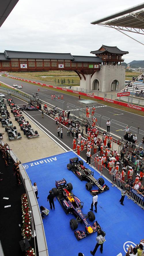 Korea eyes F1 return with Seoul night race