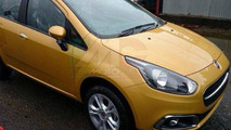 2015 Fiat Punto facelift leaked photo