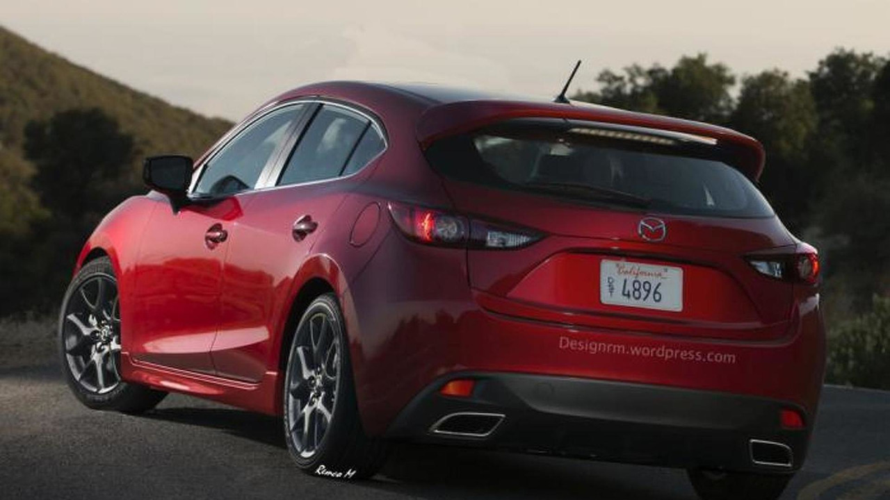Mazda 3 MPS / Mazdaspeed 3 artist rendering