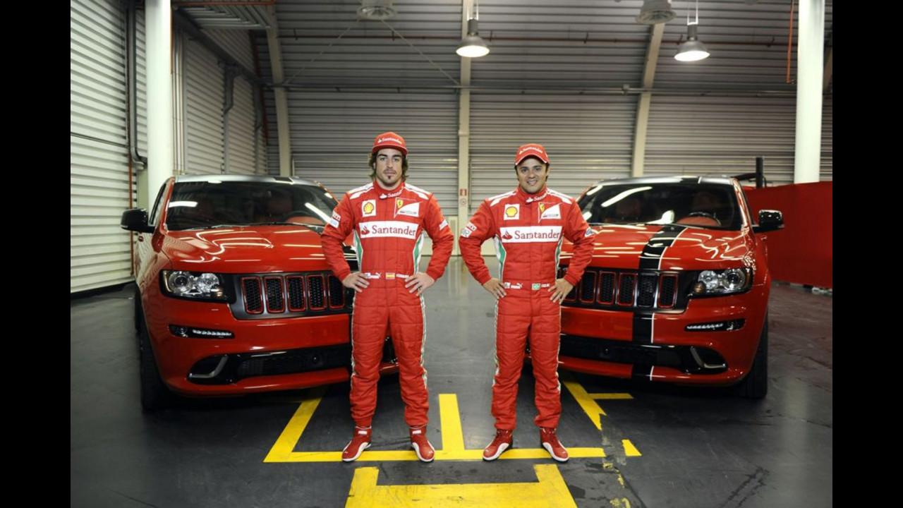 Jeep Grand Cherokee SRT-8 Rosso Corsa Ferrari