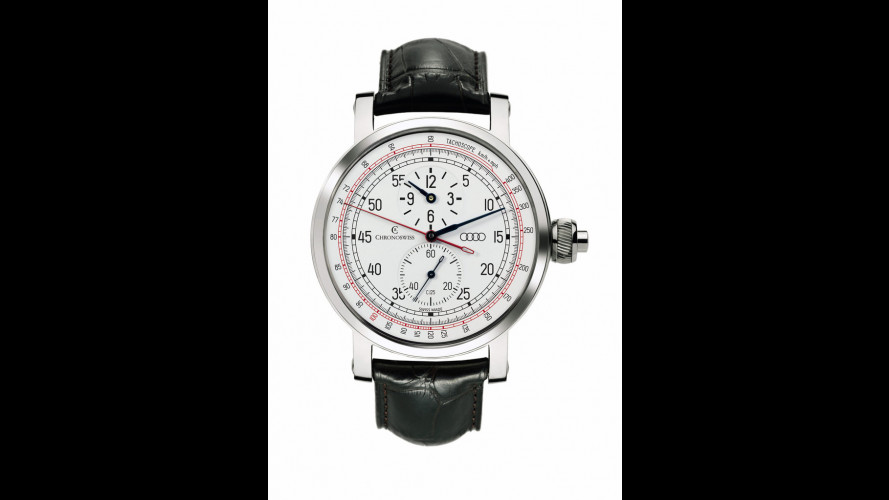 Audi festeggia i 100 anni anche con un orologio