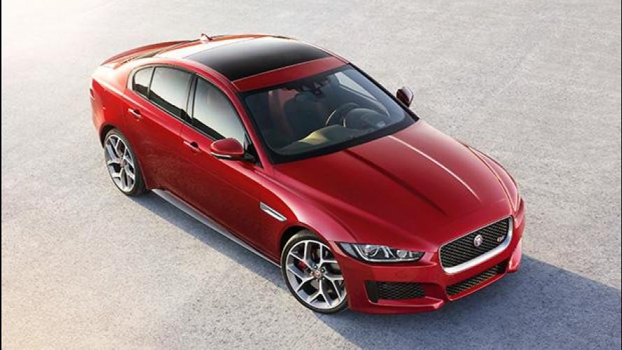Jaguar XE, il lusso dell'alluminio
