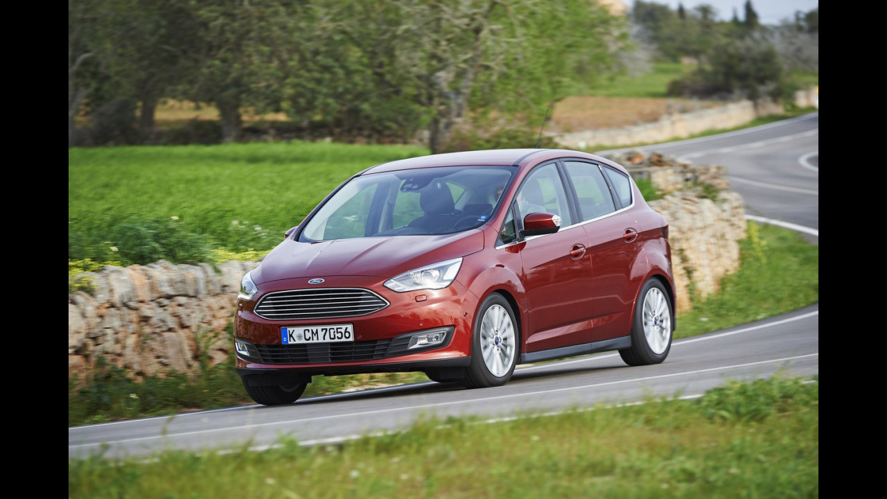 Ford C-Max e C-Max 7 restyling (2014)