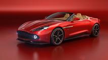 Aston Martin's stunning Vanquish Zagato goes topless for Pebble Beach