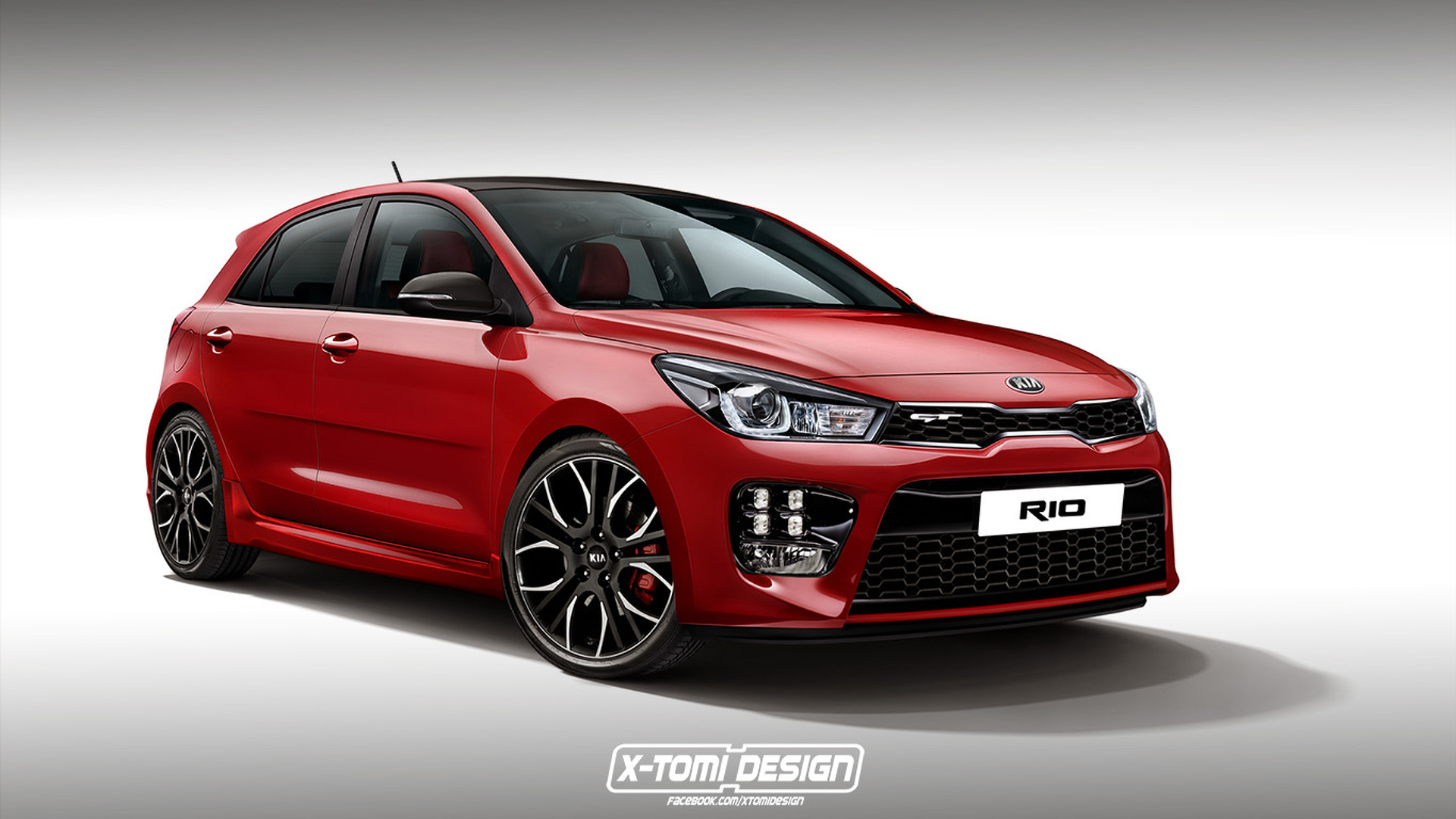 We Buy Used Cars >> 2017 Kia Rio rendered in spicy GT trim