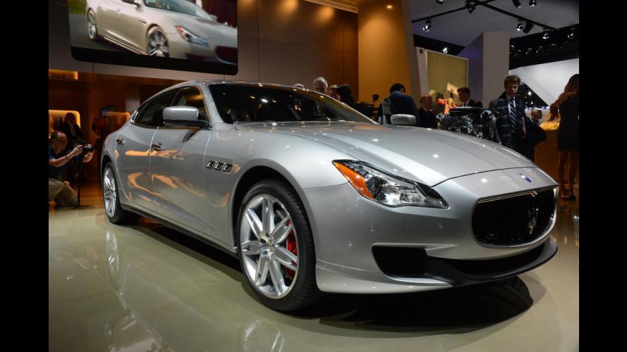 Maserati al Salone di Detroit 2013