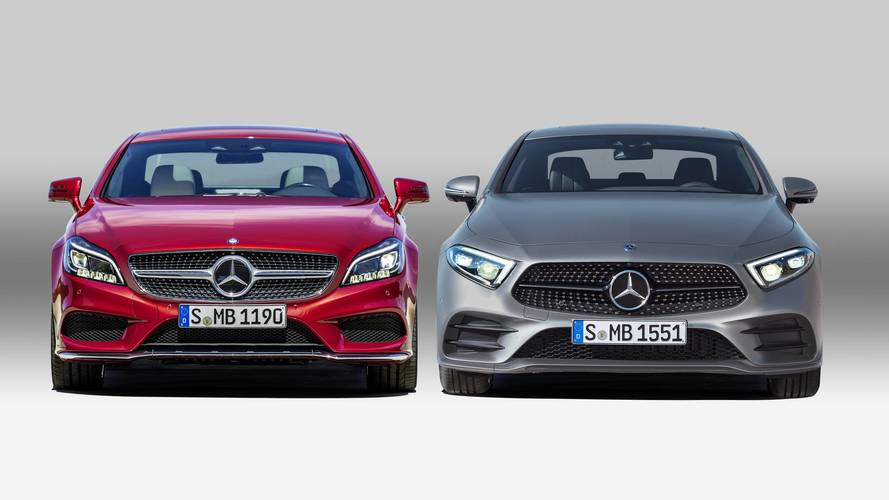La nouvelle Mercedes CLS face à la précédente génération