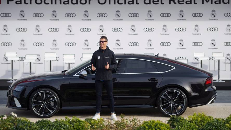 Cristiano Ronaldo gifted spectacular car in Audi's Real Madrid handout — PHOTOS