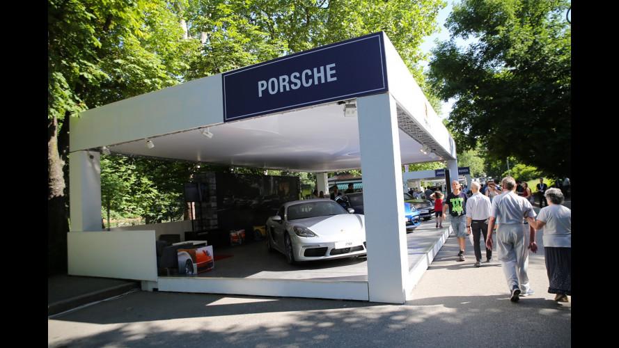 Porsche a Parco Valentino 2017