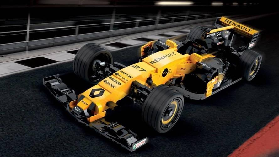 Renault'nun 600,000 parçalık gerçek boyutlu Lego Formula 1 aracı
