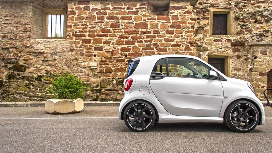 Smart ForTwo tricked out by Lorinser with more power and cosmetic tweaks